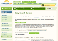 Easy Splash Builder