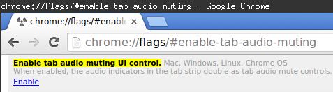 Chrome Mute English