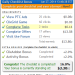 How to make money on ClixSense: The ClixSense Daily Checklist