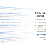How to make money on ClixSense: Tasks