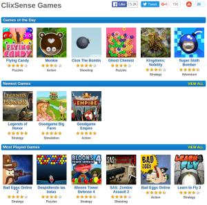 ClixSense Games