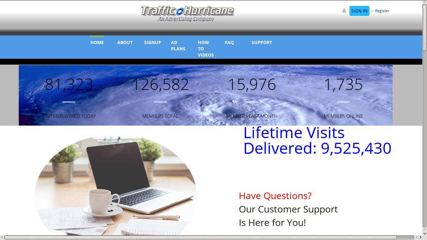 TrafficHurricane