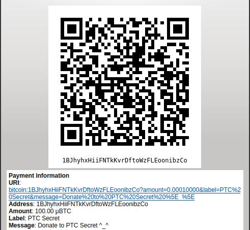 Bitcoin Core request Bitcoins