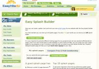 Easy Splash Builder